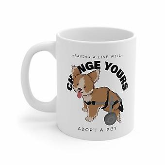 Save A Live Will Change Yours-adopt A Pet Mug