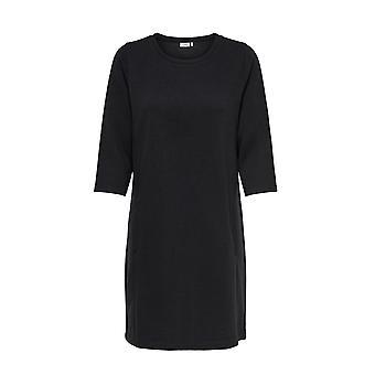 JDY Ladies Knitted Dress Long Sleeve Shirt 3/4 Sweater Jumper Dress JDYSAGA Only