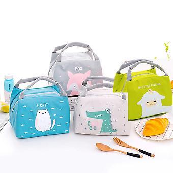 Cartoon süße Lunch-Tasche / Thermal isoliert Lunch Box Tote Essen Picknick Tasche / Milch