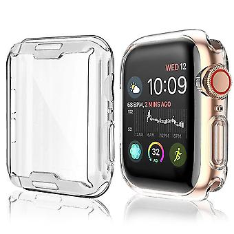 Watch Cover Case For Apple Watch Series Band Case Slim All Inclusivetpu Case