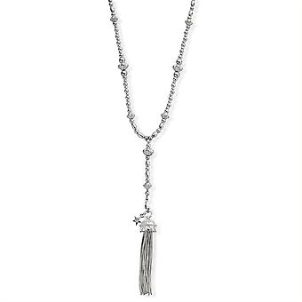 ChloBo SNF487 Fearless Necklace With Tassel Pendant