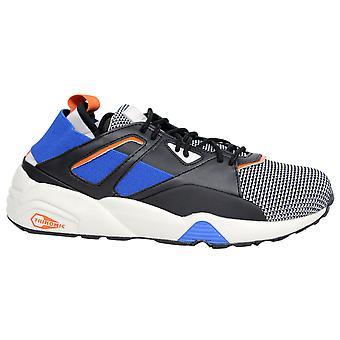 Puma BOG Sock Tech Lace Up Mens Trainers Black Blue 362037 01 D56