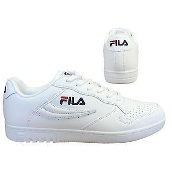 Fila FX-100 الدانتيل الأبيض المنخفض حتى عارضة الرياضة الرجال المدربين 1010260 1FG B0C