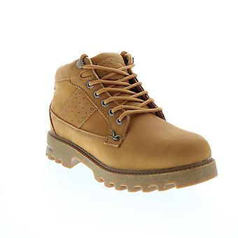 Lugz Birdman Lifestyle  Mens Brown Nubuck Lace Up Ankle Boots