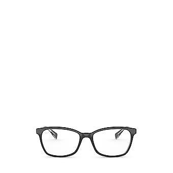 Ray-Ban RX5362 yläosa musta läpinäkyvillä naisten silmälasilla