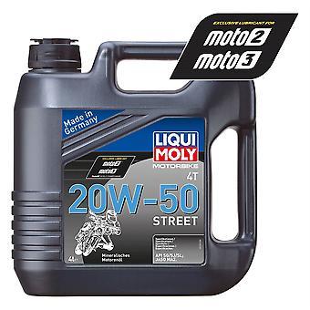 Liqui Moly 4 Stroke Mineral Street 20W-50 4L - #1696