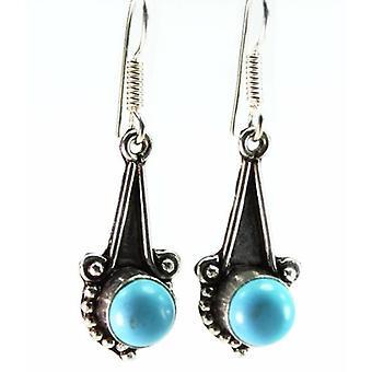 Round Stone Earrings