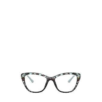 Prada PR 04WV vio anteojos femeninos azules