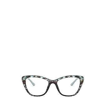 Prada PR 04WV spotted blue female eyeglasses