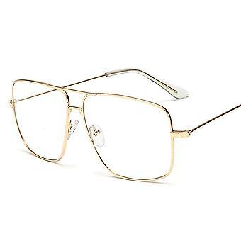 Vintage Gold Metall Rahmen Brillen