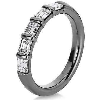 Luna Creation Promessa Ring Multiple Stone Trim 1A785W856-3 - Ringbreedte: 56