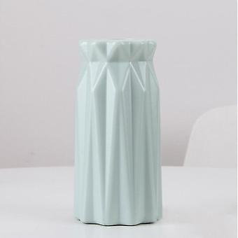 Home Decor Anti-ceramic Plastic Imitation Rattan Flower Vase