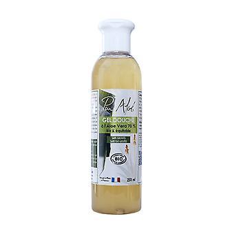 Organic Aloe Puraloe Shower Gel 250 ml