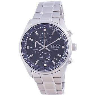 Seiko Chronograph Quartz Ssb377 Ssb377p1 Ssb377p 100m Men's Watch