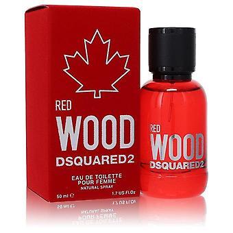 Dsquared2 Red Wood Eau De Toilette Spray By Dsquared2 1.7 oz Eau De Toilette Spray