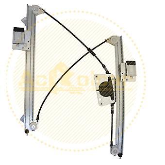Främre högra förarsidan Elektriska fönsterregulator (utan motor)