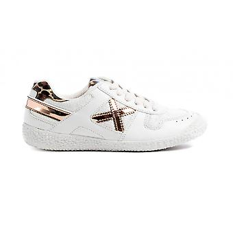 Shoes Baby Munich Sneaker With Laces Mini Goal In White Faux leather Zs21mu18 1513