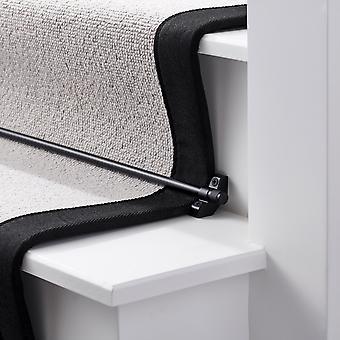 Brass Stair Rod - Preto