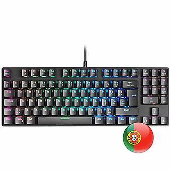 Gaming Keyboard Mars Gaming MKREVO PRO LED RGB PT