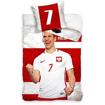 Cover Poland - A. Milik 160 x 200 cm