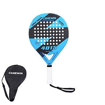 Carbon And Glass Fiber Padel, Tennis Racket, Men, Women, Popular Sport, Soft