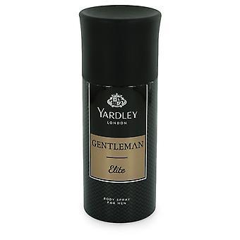 Yardley Gentleman Elite by Yardley London Deodorant Body Spray 5 oz