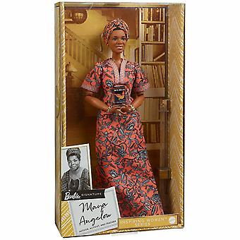 Barbie Maya Angelou inspiroiva naisten nukke