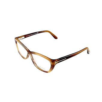 Tom Ford Eyeglasses Frame TF5227 050 Brown Gradient Plastic Italy Made 54-10-130