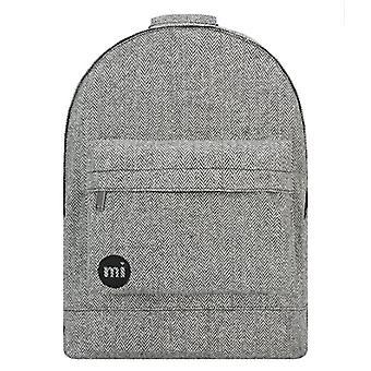 Mi-Pac Mi-Pac Backpack Herringbone Casual Backpack, 41 cm, Black (Monochrome)