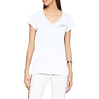 G-STAR RAW 14 Slim V T Wmn S/s T-Shirt, Mångfärgad (vit), liten kvinna