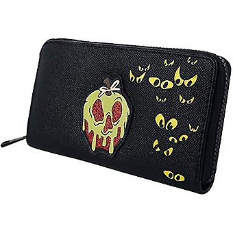 Snow White and the Seven Dwarfs Evil Queen Woman Multicolored Polyurethane, Polyester Wallet