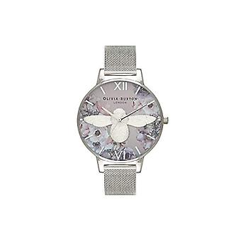 Olivia Burton analoge quartz horloge vrouw met roestvrij staal band OB16PP42