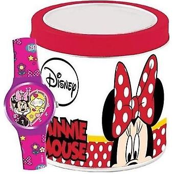 Walt disney kid's watch minnie - tennlåda 562385