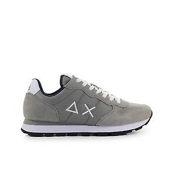 Sun68 Tom Solid Nylon Grey Sneaker