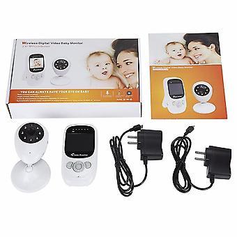 Baby Monitor With Camera 2.4 Inch Ir Night Vision Intercom Temperature Monitor