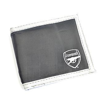 Arsenal Multi Pocket schwarz Canvas Wappen Brieftasche