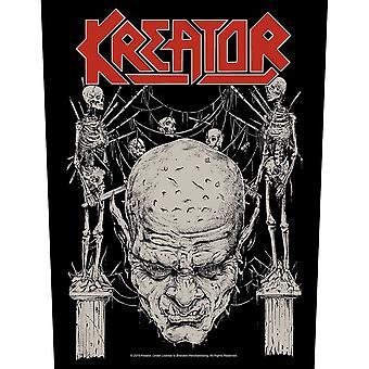 Kreator - Skull & Skeletons Back Patch