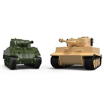 Airfix Classic Konflikti Tiger 1/Sherman Firefly Mallisarja