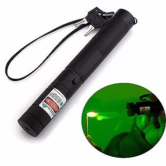 Powerful Green Laser Pointer Laser Sight Adjustable Focus Lazer Light