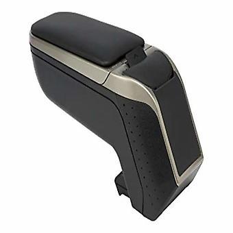 Armrest LEON III 2013- SEAT Black/Grey