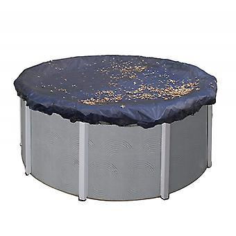 210D pyöreä ulkouima-altaan kansi, ulkopuutarhan lehtisuojakansi