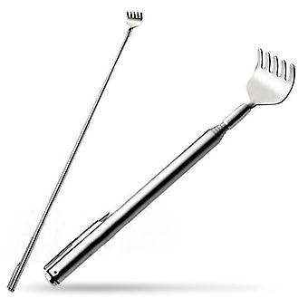 2 Pcs stainless steel retractable back scratching tool