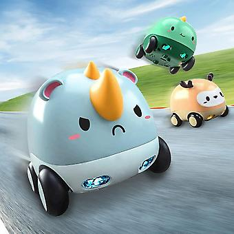 Friction Powered Cars, Baby Toy Cars With Lights And Music (3pcs)