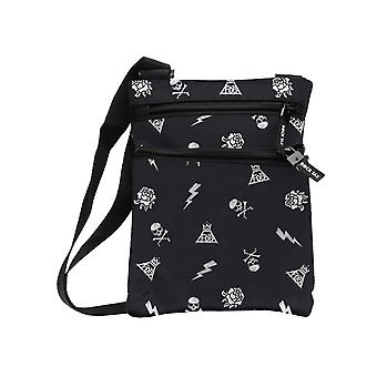 Fall Out Boy Body Bag Pattern Band Logo new Official Black