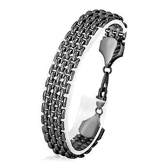 U7 Linked Bracelet-Black