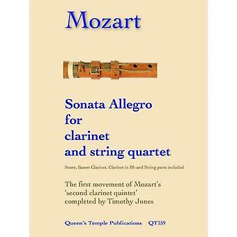 Mozart: Sonata Allegro for clarinet & string quartet