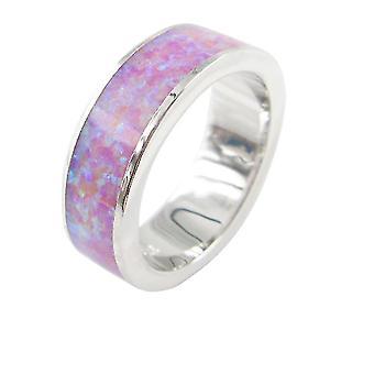 5,5 mm pinottava opaalinauharengas