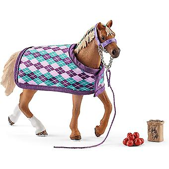 42360 - Horse Club English Thoroughbred with blanket (New)