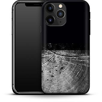 Holzmaserung Scheibe von caseable Designs Smartphone Premium Case Apple iPhone 12 Mini