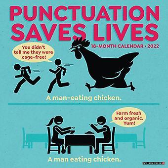 Skiljetecken räddar liv 2022 Humor Wall Kalender av Willow Creek Press